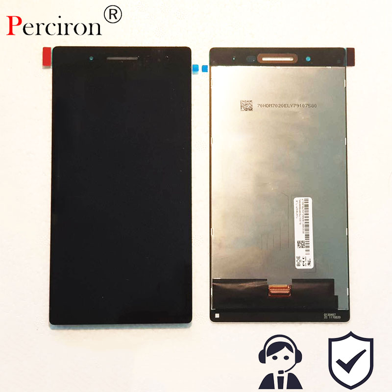 New 7 inch TB 7304F LCD Display + Touch screen For Lenovo TB-7304F digitizer panel sensor lens glass assembly 7 inch for asus me173x me173 lcd display touch screen with digitizer assembly complete free shipping