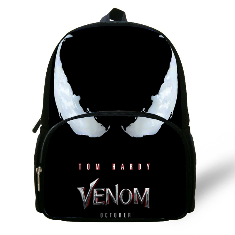 12 Zoll Heißer Verkauf Venom Rucksack Für Kinder Jungen Mädchen Druck Tasche Für Kinder Baby Vorschul Casual Taschen Für Kindergarten Kataloge Werden Auf Anfrage Verschickt