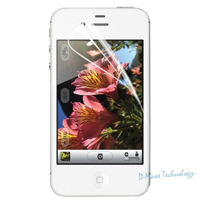 bilder für 100 Stücke ein Pack Für iPhone 6 6 s Displayschutzfolie 4,7 ''HD Hohe Qualität Vorne Schützen mit Wischtuch für jeden Einzelnen Film