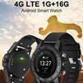 4g esporte relógio inteligente bluetooth gps freqüência cardíaca wifi android 7.0 mtk6737 quad core smartwatch relogios para samsung engrenagem s3 pk kw88