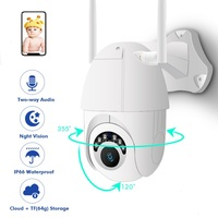 ZOOM HD 1080P WIFI Wireless IP Camera Outdoor Security Surveillance Camera PTZ Speed Dome CCTV 60m IR Night Vision IP65
