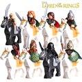 Bloque de construcción hobbit señor de los anillos aragorn caballero caballo 1 Unidades diy figuras ladrillos modelo wraith niños juguetes educativos aficiones