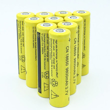 10/25pcs 18650 Battery 9800mAh 3.7V 18650 Rechargeable Battery Li-ion Lithium Bateria for LED Flashlight Torch Lithium Battery 1 2 4 6 8 pieces gtf 18650 battery rechargeable battery 3 7 v 18650 9800mah li ion lithium ion batteries led light torch bateria