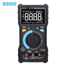 BSIDE ZT M1 Авто/Ручной цифровой мультиметр EBTN тройной дисплей 8000 отсчетов батарея тест напряжение VFC квадратная волна тестер выхода