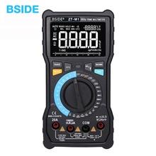 Multimètre numérique automatique/manuel BSIDE ZT M1 Triple affichage EBTN 8000 comptes tension dessai de batterie testeur de sortie donde carrée VFC
