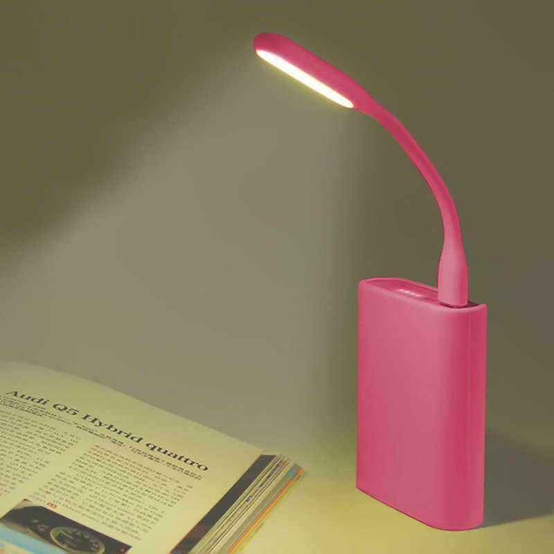 White Lamp USB light Bendable Portable for Laptop Pc computer