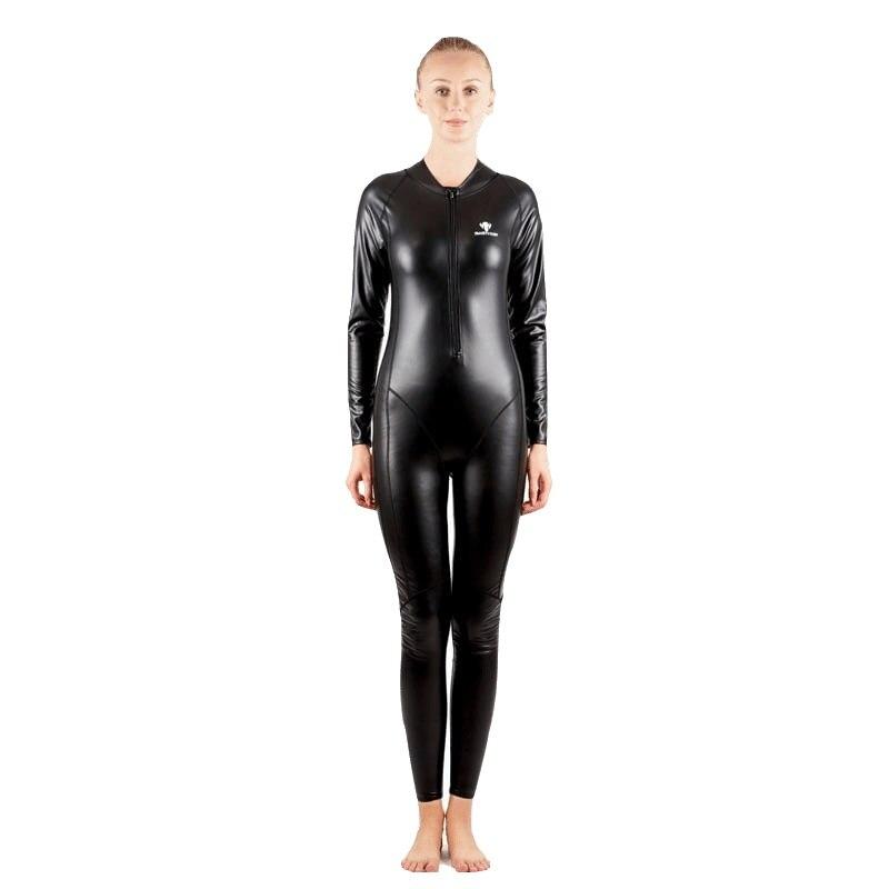 Women Teens PU Fleece Keep Warm Wetsuit One Piece Bodysuit Snorkel Surf Bathing Swim Suit Female Swimsuit Swimwear Plus Size plus size velvet cami bodysuit