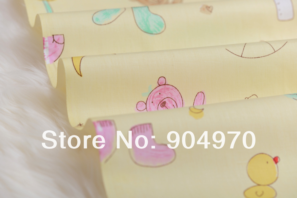 50x160 cm soleado oso lindo acolchado Ropa de cama 100% algodón ...
