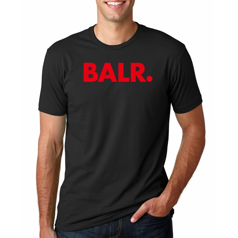 sale retailer new & pre-owned designer cozy fresh BALR Letter Print Men Tshirt Cotton Casual Funny T Shirt for ...