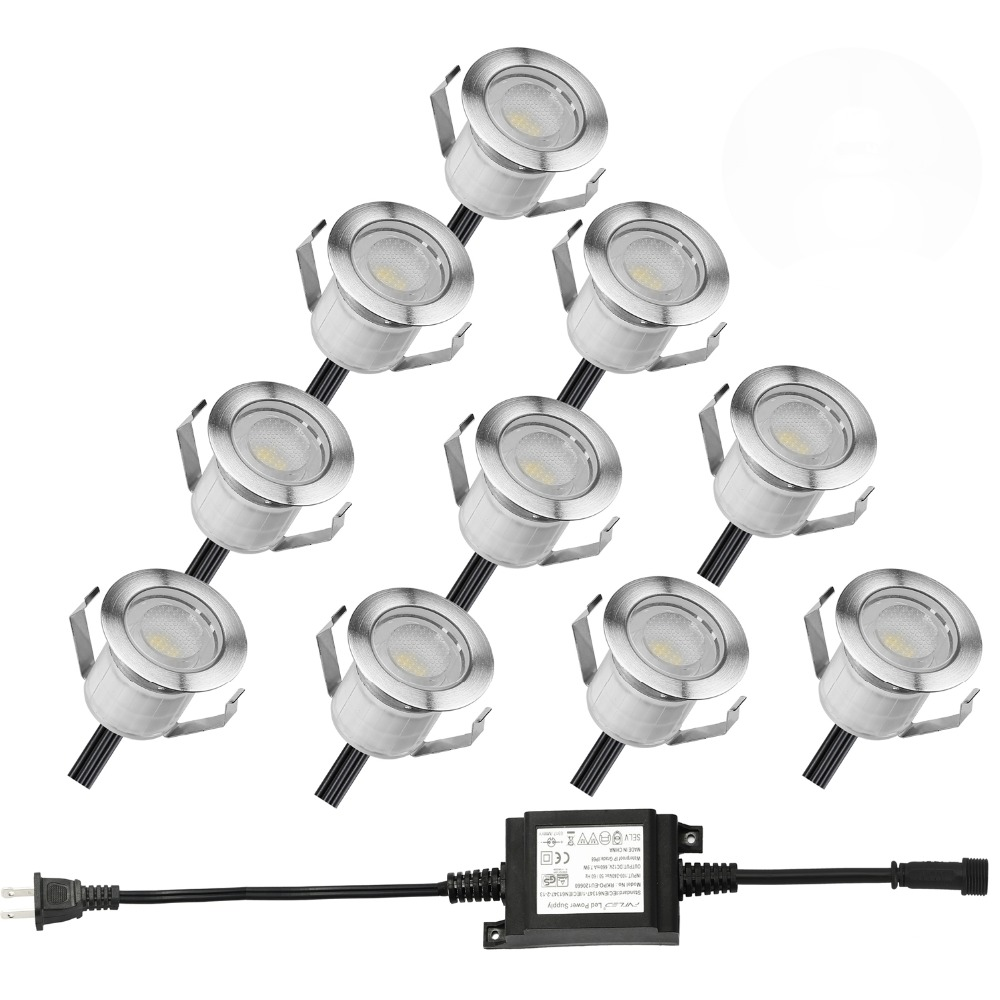 Verlichting Rail Led Kopen Goedkoop 10 Stks Set 30mm Warm Wit 12 V Terras Led Dek Trap
