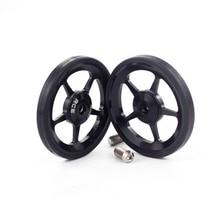 Aceoffix легкие колеса Easywheel и титановые болты для Brompton складной велосипед dino-kiddo супер легкие колеса из сплава 2 шт
