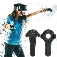 For HTC Vive Headset VR Silicone Case Cover VR Headset Anti slip Wireless Control Gamepad Silicone Case Cover