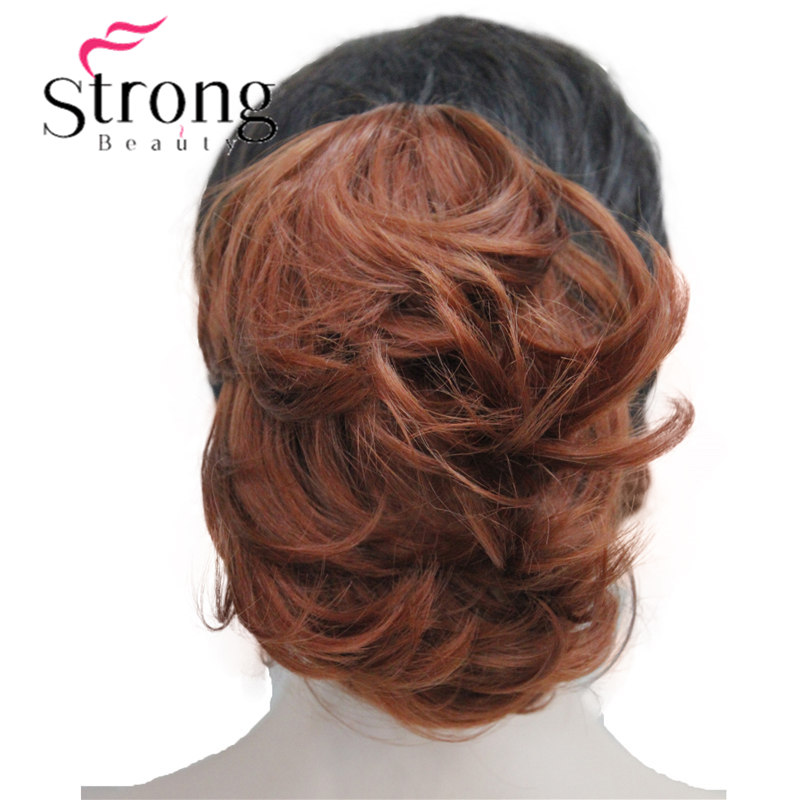 Dual-purpose Short Curly Clip In Claw Ponytail Hair Extension Synthetic Hairpiece 90g with a jaw/claw clip(China)