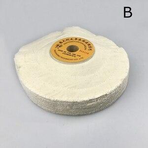 """Image 2 - 1 piece 10"""" Leather Surface Finishing Buffing Wheel Cloth Polishing Wheel"""