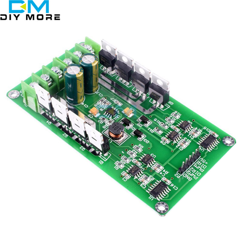 DC 3V-36V 15A Dual H-Bridge DC Motor Driver for Robot Car Arduino Compatible dual mc33886 motor driver board dc 5v 2a for smart car raspberry pi a b 2b 3b