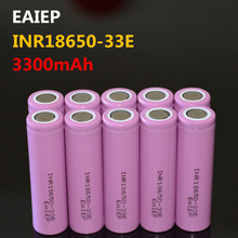 цена EAIEP INR18650-33E 3.7V 3300mAh rechargeable lithium-ion battery 18650 EAIEP INR18650-33E safe rechargeable battery
