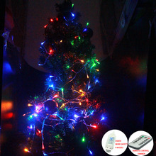 USB 5V 10m Christmas Light String dimmable with 8 modes Remot Control Fairy Lamp For Party Wedding Holiday LED Lights Decoration usb led lights string 10m 8 modes controllable blink garland fairy light for all holiday christmas wedding party decoration dc5v