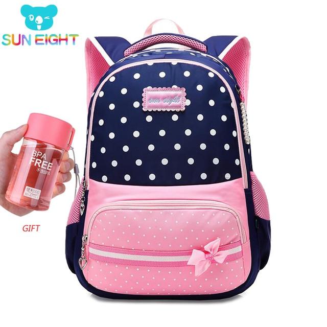 SUN EIGHT New School Bags for Girls Brand Women Backpack Cheap Shoulder Bag  Wholesale Kids Backpacks 6ad41e61306c6