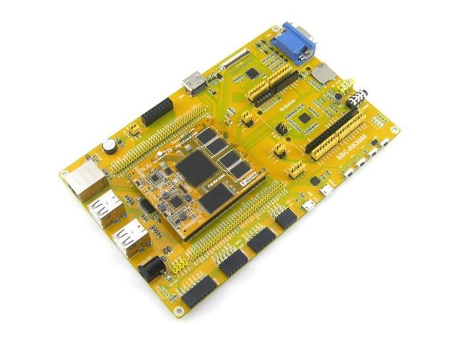Mars Marsboard RK3066 ARM Cortex-A9 Dual Core COPO Placa de Desenvolvimento Kit Mini PC + Câmera de 7 polegadas LCD Touch + USB + módulos