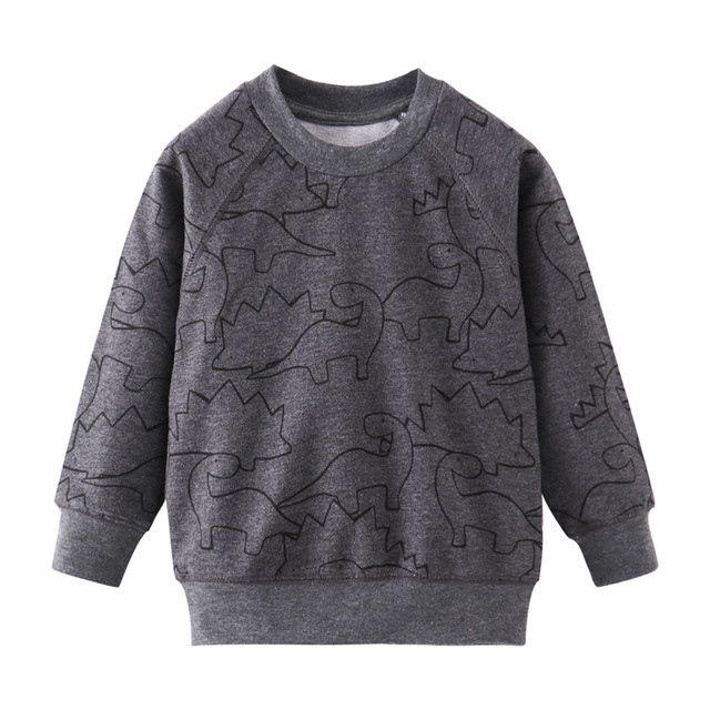 Jumping Meters New Stars Sweatshirts Baby Boys Girls Outwear Cotton Clothing Fashion Style Children Tops Autumn Spring Shirts 3