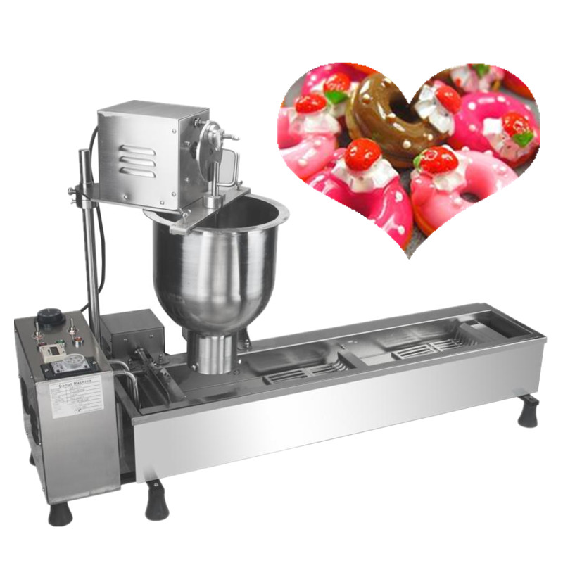 Commercial automatic mini donut making machine 220v 3000w stainless steel doughnut maker 6 pcs time yeast donut machine stainless steel industrial mini donut machine for commercial page 5 page 3