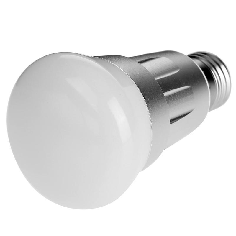 Wireless WiFi Control E27 Smart LED Light Bulb with Amazon/Alexa/Google Home APP Phone Remote Control Multi Color LED Bulb keyshare dual bulb night vision led light kit for remote control drones