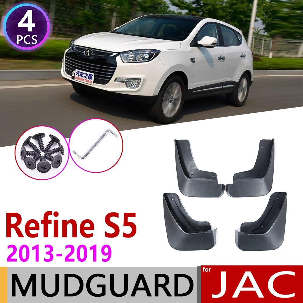For JAC Refine S5 2013~2019 Front Rear Mudflap Fender Mud Flaps Guard Splash Flap Mudguard Accessories 2014 2015 2016 2017  2018