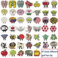 Free Shipping Multi Kinds of Golf Ball Markers Plus Golf  Hat Clips, 3 pcs/lot , (Flag,Animal,Cloth Kinds)