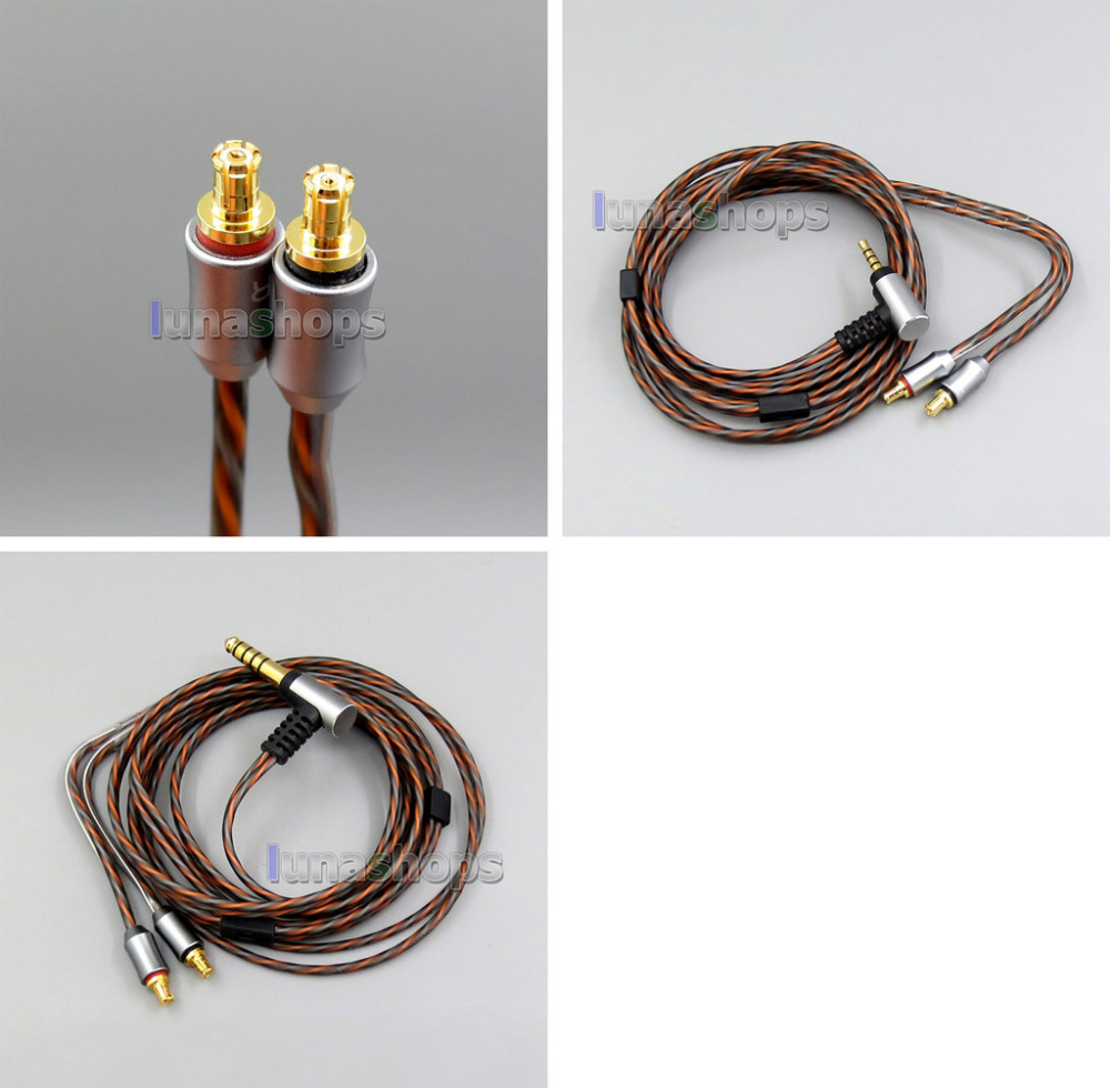 312a 2.5mm 4.4mm Trrs Balanced Headphone Cable For Audio Technica Ath-ls50/ls70/ls200/ls300/ls400/e40/e50/e70 Ln006314 Bright And Translucent In Appearance Earphone Accessories Portable Audio & Video