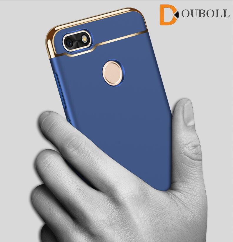 Douboll для <font><b>Huawei</b></font> <font><b>Nova</b></font> <font><b>Smart</b></font> наслаждаться 6 S 7 6a 5S Роскошные гальванических Полный протектор PC Стильный телефон Чехол