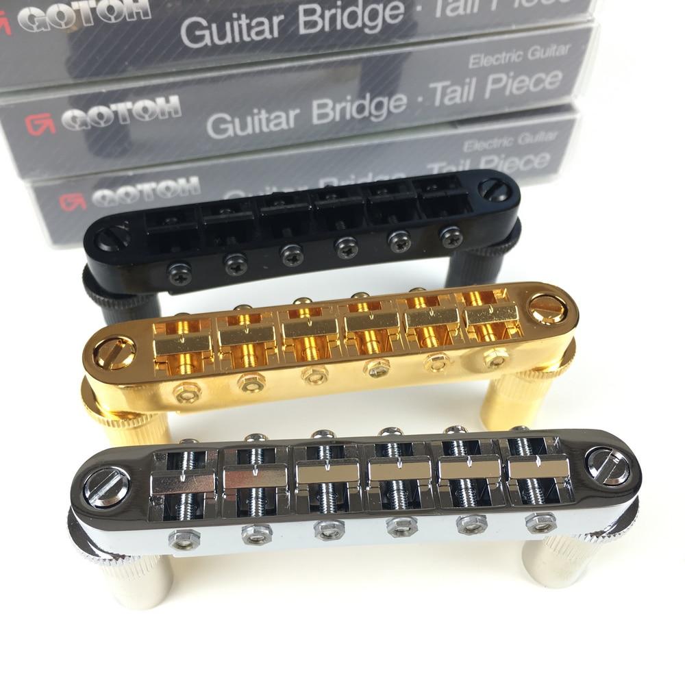 Original GOTOH GE103B T Saddle Tune O Matic Style Electric Guitar Bridge For Epip Standard LP