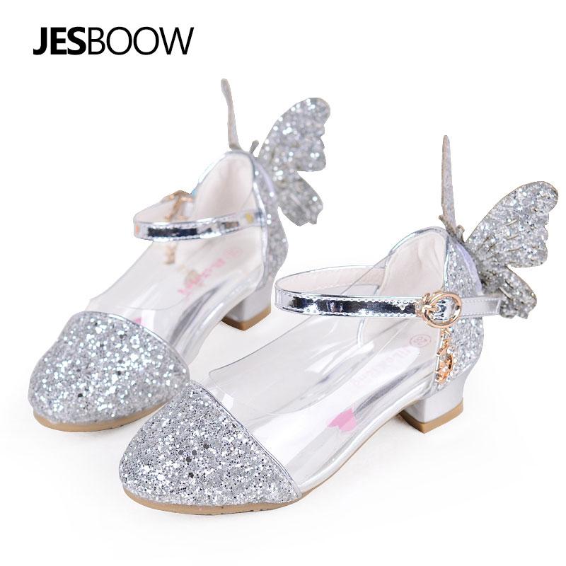 Peuter Meisjes Wing Glitter party pumps sandaal Pailletten Butterfly - Kinderschoenen - Foto 2