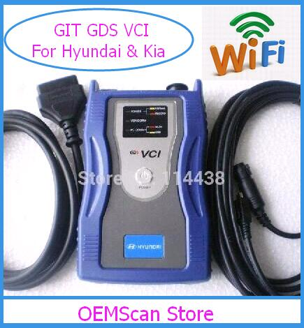 Цена за 2017 Оригинальные GDS VCI для Hyundai GDS VCI Сканер с Wi-Fi функция VCI сканер для kia GDS Сканер Автомобилей и Грузовиков с Новым программным обеспечением