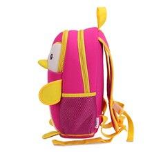 Cute Penguin Shaped Waterproof Neoprene Toddler's Backpack