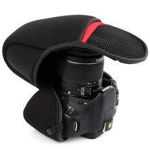 DSLR Камера сумка мягкий вкладыш посылка для Canon 1300D 1200D 1500D 200D 100D 1100D 760D 750D 700D 800D 600D 500D 18-55 мм объектив