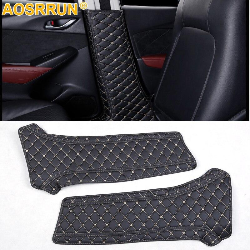 Voiture-style Intérieur de B colonne de protection film De Voiture Accessoires Pour Mazda CX-3 CX3 2016 2017 2018