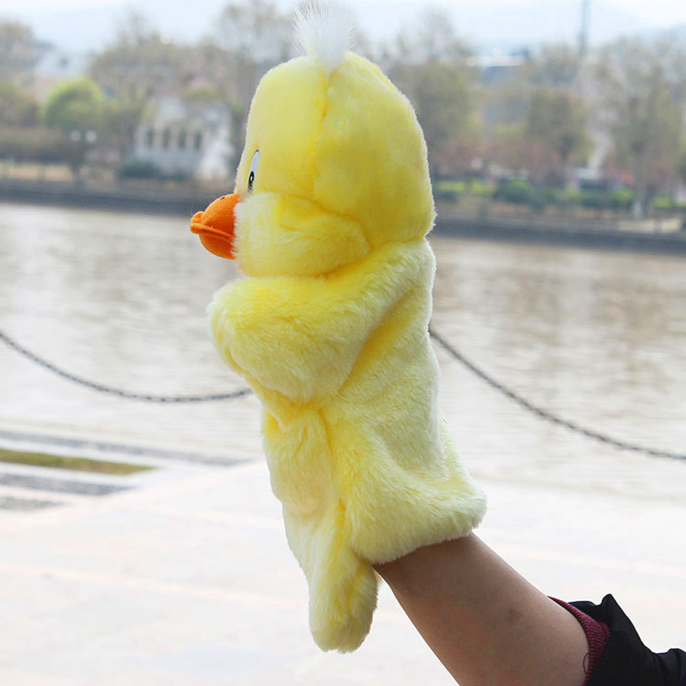 New-Kids-Lovely-Animal-Plush-Hand-Puppets-Childhood-Soft-Toy-Duck-Shape-Story-Pretend-Playing-Dolls-Gift-For-Children-4