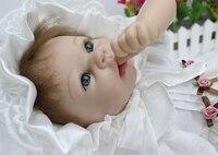 22 дюйм(ов) винил Реалистичная маленьких Adora кукла реборн мягкий силиконовый принцесса кукла Классические игрушки Свадебные украшения