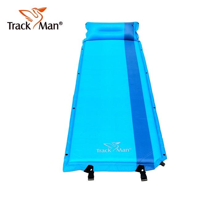 Self-надувной матрас подушки спальный мешок коврик влагостойкий Кемпинг матрас с подушкой коврик палатка походный коврик