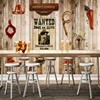 Free Shipping 3D Stereo Wallpaper Western Cowboy Board Wall American Style Custom Wallpaper Living Room Mural