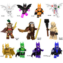 Single sale Batman Lord of the Rings Mayor Elf king Buzz Lightyear Statue of Liberty Building Blocks Figures LegoINGS Kid Gift(China)