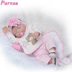 Pursue 20 50cm sleep lifelike doll full body silicone reborn baby dolls for girls bebe reborn.jpg 250x250