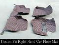 Custom fit car floor mats right hand drive for Ford S-max Raptor Cobra Ecosport Kuga Tunland Eoge Mondeo Fiesta car-styling