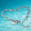 Women's 925 sterling silver charm rabbit bracelet fashion women sterling silver bracelet