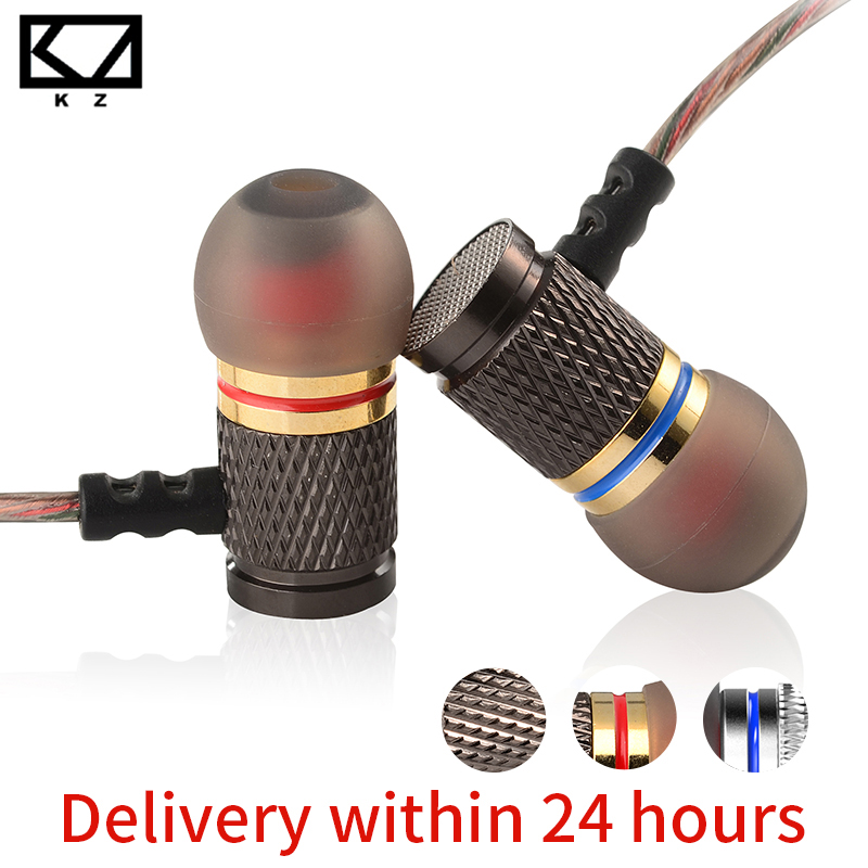 KZ ED Special Edition Gold Plated Housing Earphone with Microphone 3.5mm HD HiFi In Ear Monitor Bass Stereo Earbuds for Phone brand kz ed headset gold plated headphone housing earbuds noise cancelling earphone stereo with microphone for earpods airpods
