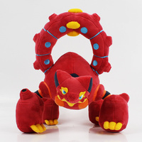 28cm Volcanion XY Plush Doll Toy red cool cartoon doll toy Hot Anime Doll soft stuffed for birthday