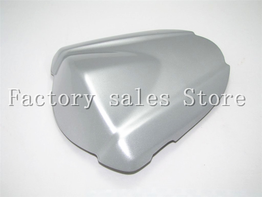 For Suzuki GSXR-1000 GSXR1000 GSXR 1000 K7 2007 2008 Rear Seat Cover Cowl,solo Racer Scooter Seat Motorcycle 07 08 Silver