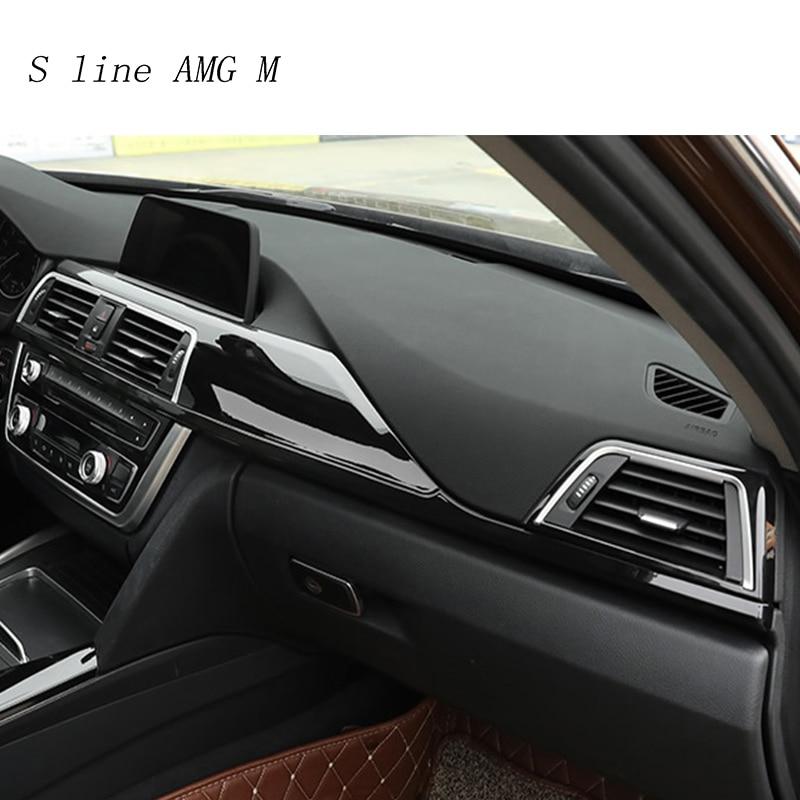 Garniture d'autocollants pour panneau de sortie d'air de ventilation avant pour BMW 3 4 Series 3GT F30 F32 F34 accessoires Auto intérieurs