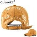 Climate ante de la manera gorras de béisbol nuevo sol único bordado otoño invierno primavera hip hop sombrero ajustable adulto mujeres niñas dama