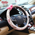 Ladies only Steering Wheel Cover - Odorless, Warmer Hands In Winter, Cooler Hands In Summer,